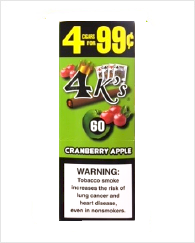 4 Kings Cranberry Apple 60 cigars