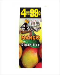 4 Kings Mango 60 cigars