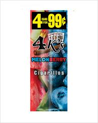 4 Kings Melon Berry 60 cigars