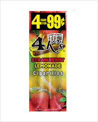 4 Kings Strawberry Lemonade 60 cigars
