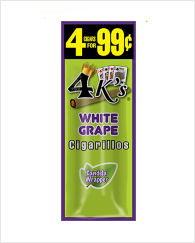 4 Kings White Grape 60 cigars