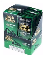 Dutch Masters Green Sweets Cigarillos 60's