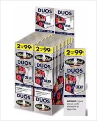 White Owl Berry Duo Cigarillo 2 for 99 - 60 cigars