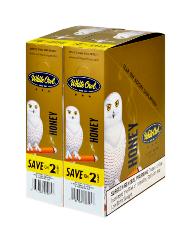 White Owl Honey Cigarillo 2 for 99 - 60 cigars