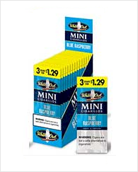 White Owl Mini Blue Raspberry Cigarillo 45 cigars