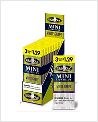 White Owl Mini White Grape Cigarillo 45 cigars