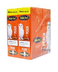 White Owl Peach Cigarillo 2 for 99 - 60 cigars