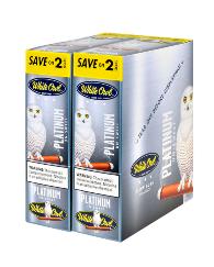 White Owl Platinum Cigarillo 2 for 99 - 60 cigars