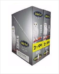 White Owl Silver Cigarillo 2 for 99 - 60 cigars