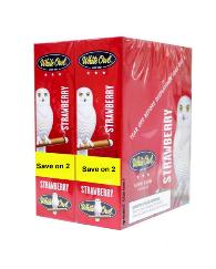 White Owl Strawberry Cigarillo 2 for 99 - 60 cigars