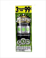 Jackpot Green Sweets Cigarillos 45 cigars