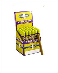 White Owl White Grape Tube Upright Box 30's