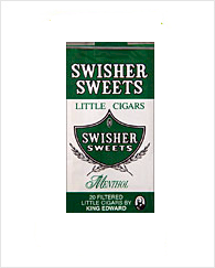 Swisher Sweets Menthol Little Cigar Carton 10/20's