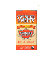 Swisher Sweets Peach Little Cigar Carton 10/20's
