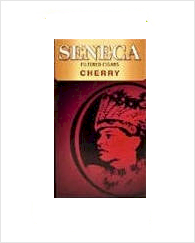 Seneca Cherry Filtered Cigar carton 10/20's