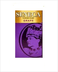 Seneca Cherry Grape Filtered Cigar carton 10/20's
