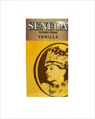Seneca Vanilla Filtered Cigar carton 10/20's