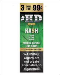 Good Times #HD Kash Cigarillos 30/3 (90 cigars)