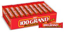 100000 Grand Candy - 100 Grand Candy Bar 36ct Box