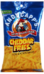 Andy Capp's Cheddar Fries 3oz Large Bags