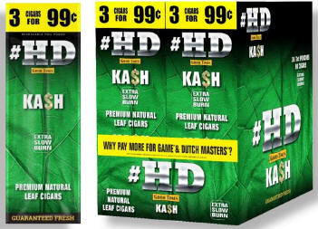 Good Times #HD Kash Cigarillos 90 cigars