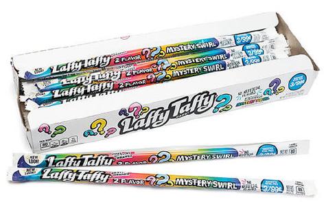 Laffy Taffy Mystery Swirl Rope Candy Taffy 24ct