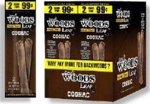 Good Times Sweet Woods Leaf Cognac 60ct Cigarillos