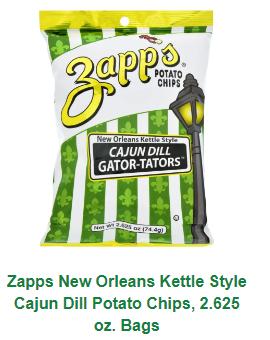 Zapp's Voodoo Cajun Dill Potato Chips 2.65oz