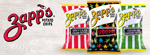 Zapp's New Orleans Style Potato Chips 2.625oz bags