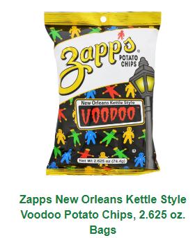 Zapp's Voodoo Original Potato Chips 2.65oz
