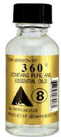 360 Body Oil Pure and Essential Oils  by Jehahn .05oz bottle