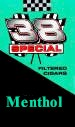 38 Special Menthol Little Filtered Cigars 10/20's - 200 cigars