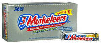 3 Musketeers Candy Bar 36ct Box