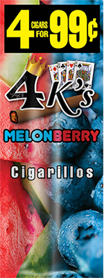4 Kings Melon Berry Cigarillos 4 for 99 / 60ct