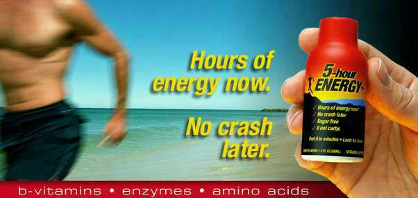 5 Hour Energy Drink 2oz bottles - Recapture that feeling of limitless energy without the crash!