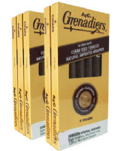 AyC Grenadier Dark Cigars 10/6 pack - 60 cigars