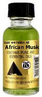 African Musk Body Oil Pure and Essential Oils by Jehahn .05oz bottle