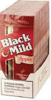 Black & Mild Apple Cigars 10/5's Packs