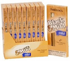 Black & Mild Mild Cigars 10/5's Packs