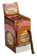 Backwoods Honey Bourbon Aromatic Cigars pack 5/8's