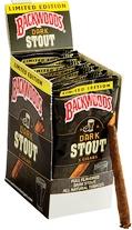 Backwoods Dark Stout Cigars pack 5/8's - 24's singles