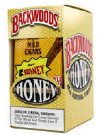 Backwoods Honey Aromatic Cigars pack 5/8's
