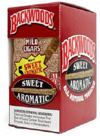 Backwoods Sweet Aromatic Cigars pack 5/8's