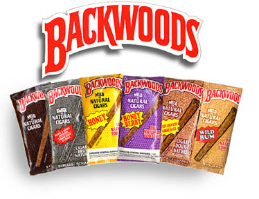 Backwoods Honey Berry Cigars pack 5/8's