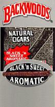 Backwoods Black n Sweet Aromatic Cigars pack 5/8's