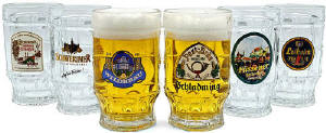 German Beer Steins Mugs 14oz