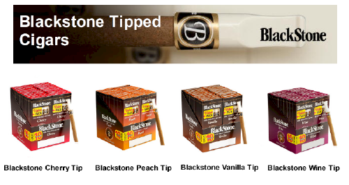 Blackstone Tip Cigarillo Cigars 20/5's - 100 Cigars