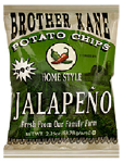 Brother Kane Jalapeno Potato Chips 2.25oz-12ct