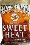 Brother Kane Sweet Heat Potato Chips 2.25oz-12ct