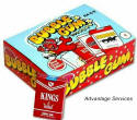 Bubble Gum Cigars 36ct Box